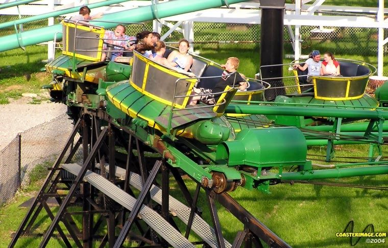 Turtle Kennywood Opened 1927 One Of Only Three Tumble Bug Rides
