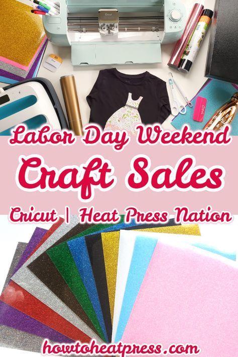 Weekly Cricut, Craft, & Heat Press Deals - Find The Best Prices Here #labordaycraftsforkids