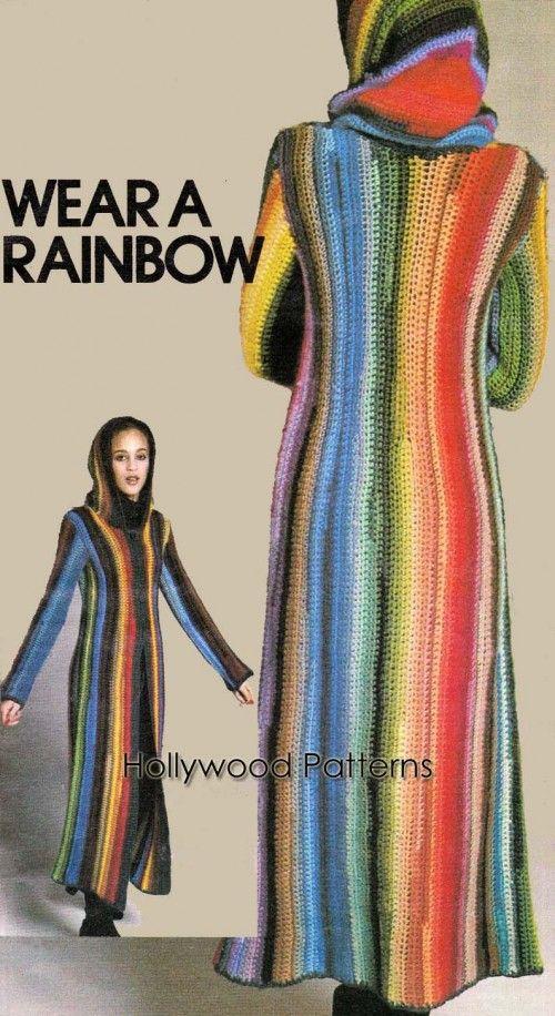 Pdf rainbow hooded sweater coat crochet pattern hoodie pdf pdf rainbow hooded sweater coat crochet pattern hoodie dt1010fo