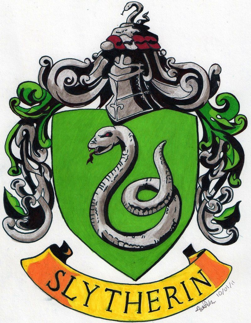 What Your Hogwarts House Says About You With Images Slytherin
