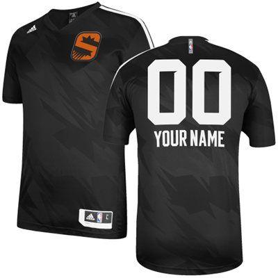 adidas Phoenix Suns Custom Gametime Shooting Shirt