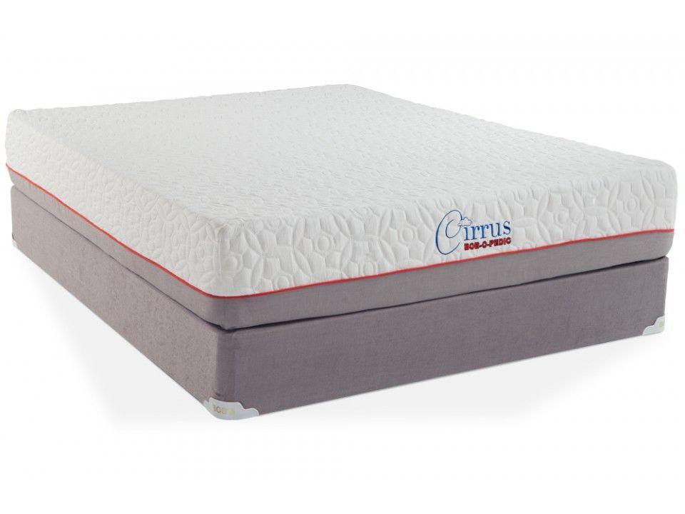Cirrus Gel Queen Split Standard Set Bob O Pedic Mattresses Etc S Furniture