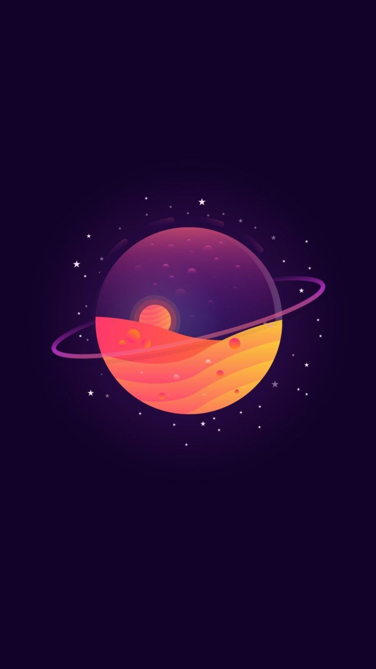 dark purple planet, iPhone Wallpaper | #1 pics in 2019 ...