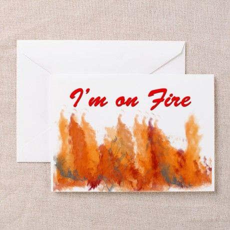 A Bruce Springsteen fan? No, I'm actually on fire. Please get help. - Gift Ideas For Boyfriend (CafePress.com)