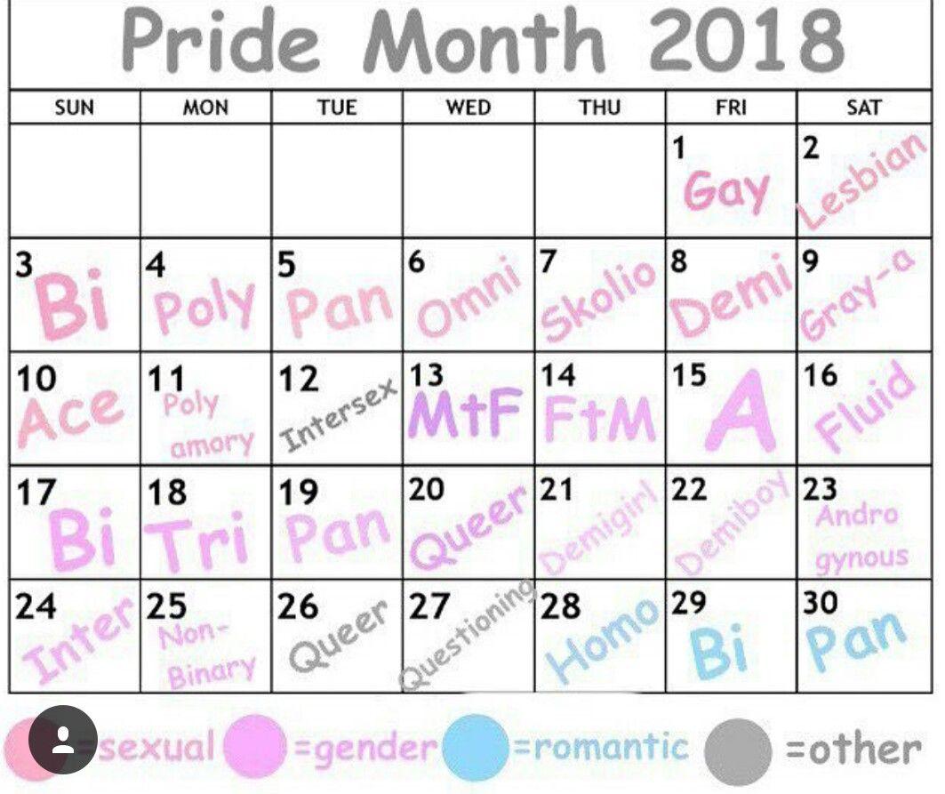 Happy Pride Month 2018 Ellie Pride Ftm