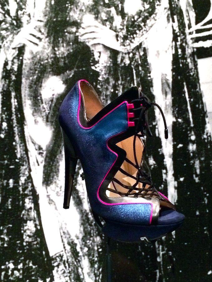 Expo Footprint het spoor van schoenen in de mode