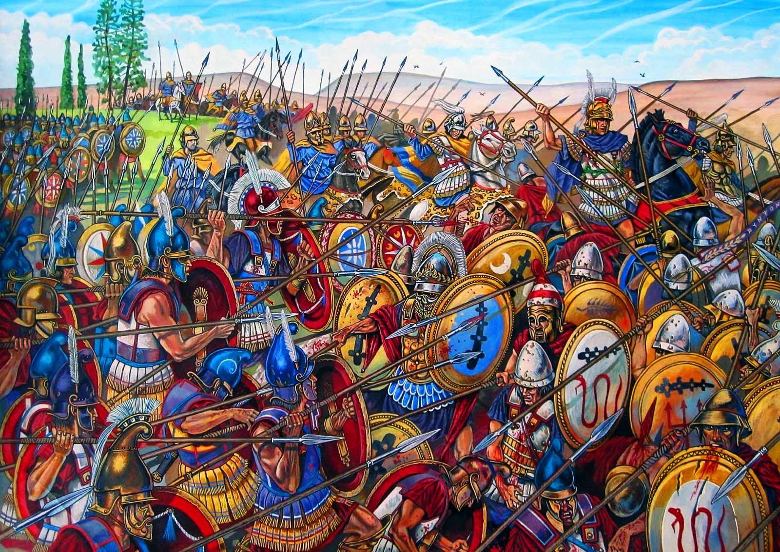 Alessandro Magno attacca Tebe che dopo averlo creduto morto si oppose al potere Macedone