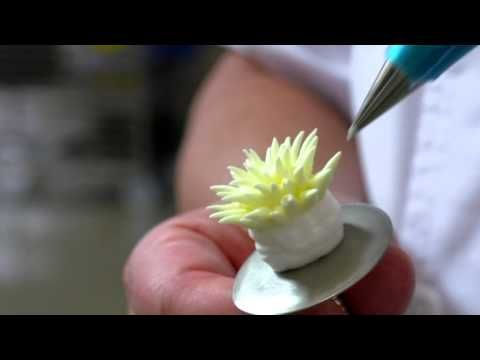Decoración de Flores 7 con crema vegetal Ambiante - YouTube