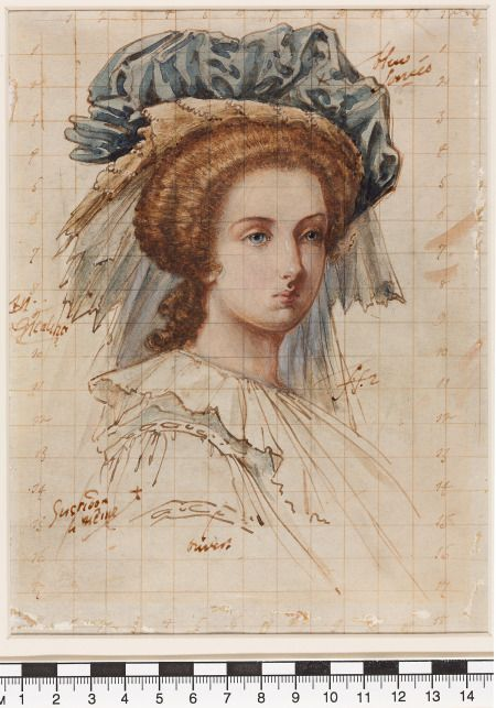 131125 12   Ritratto di Maria Antonietta   arte originale . 179 -  2457a63a3125