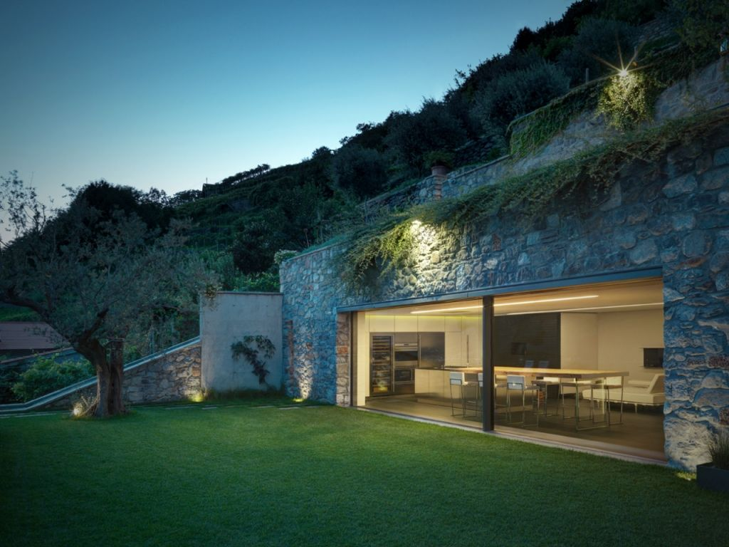 Terrasse Am Hang esszimmer mit blick auf terrasse am hang 03 wohnen