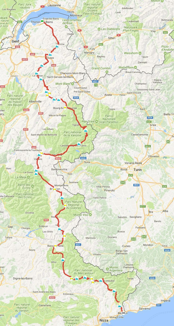 Route Des Grandes Alpes By Motorcycle Or Car Passes Info