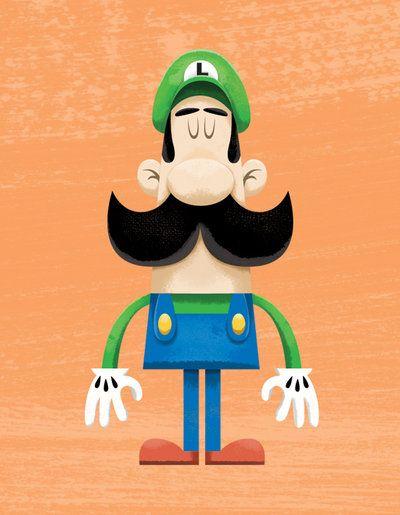 Luigi por ~ TheBeastIsBack on deviantART