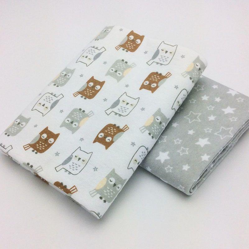 2pcs Lot 76x76cm 100 Cotton Flannel Baby Blanket Newborn Super Soft Cartoon Blankets Baby Receiving Blankets Swaddle Baby Receiving Blankets Flannel Baby Blankets Receiving Blankets
