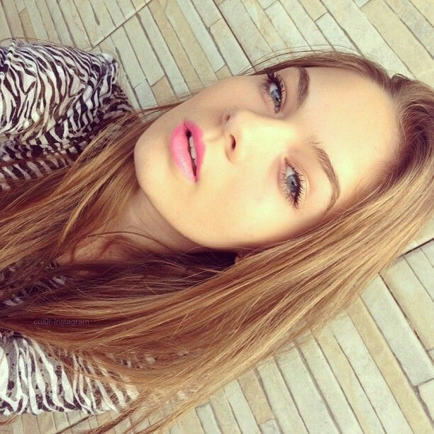 Light eyes bright lips