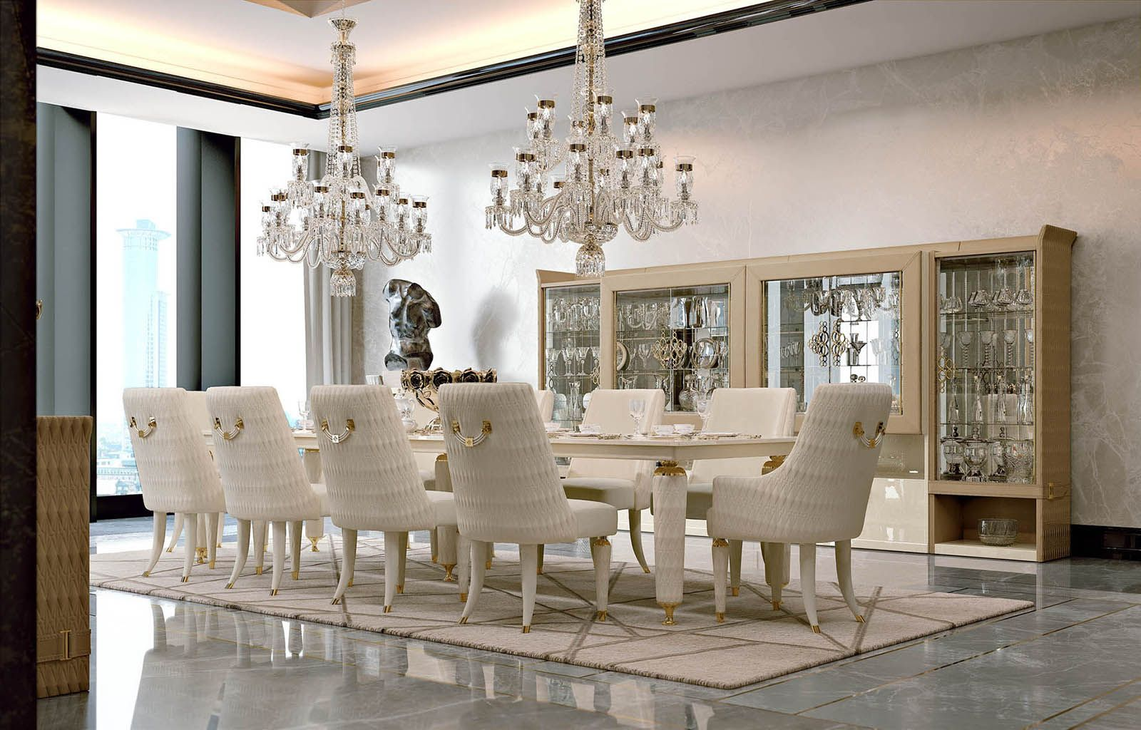 Numero Tre Collection Wwwturriit Italian Luxury Dining Room - Exclusive dining room furniture