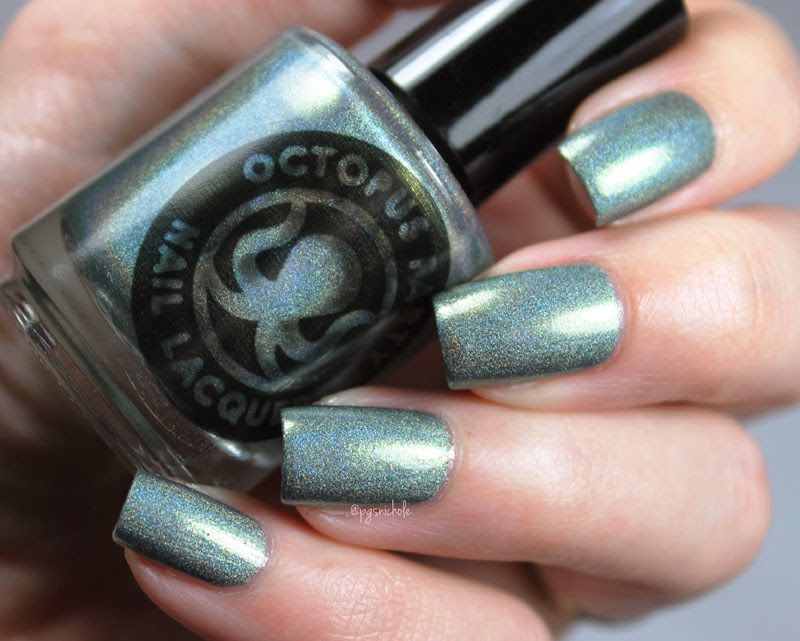 Octopus Party Nail Lacquer Baroque-n Record