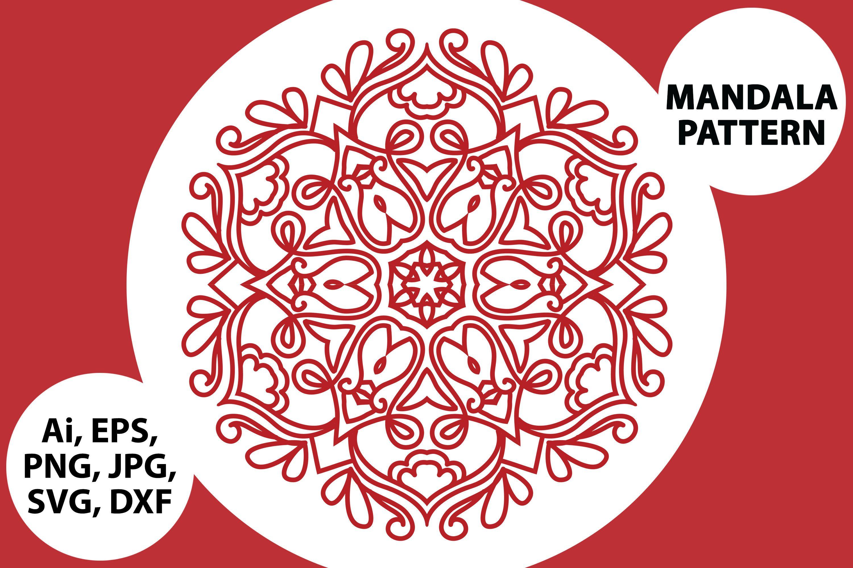 Mandala By Red Sugar Design Red, Aff
