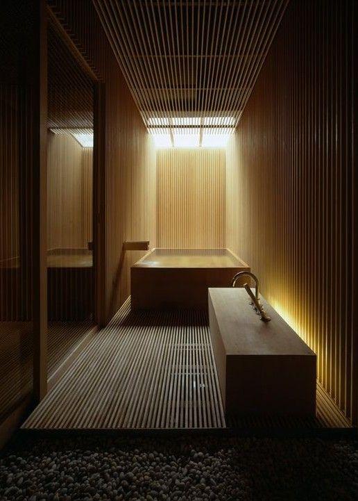Bad Modern Gestalten Im Japanischen Stil Mit Holz Und Tageslicht