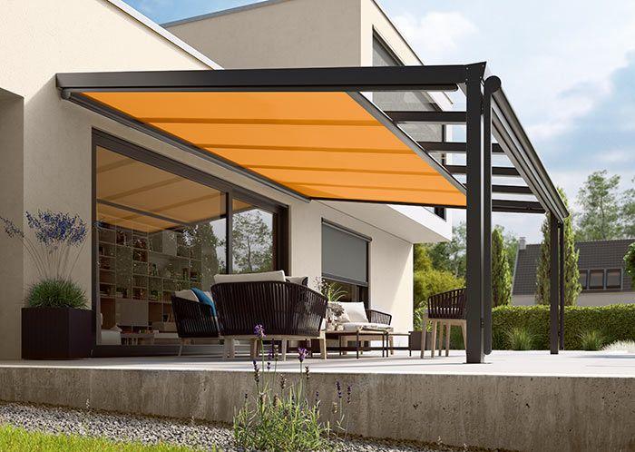 markilux outdoor Pinterest Balconies, Garden canopy and Pergolas - markisen fur balkon design ideen