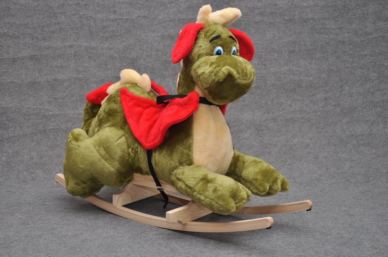 Taf toys car seat toy  Dragon à bascule peluche