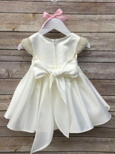 Baby Girl Christening Dress Baby Baptism Dress by BabyGalore0 | luli ...