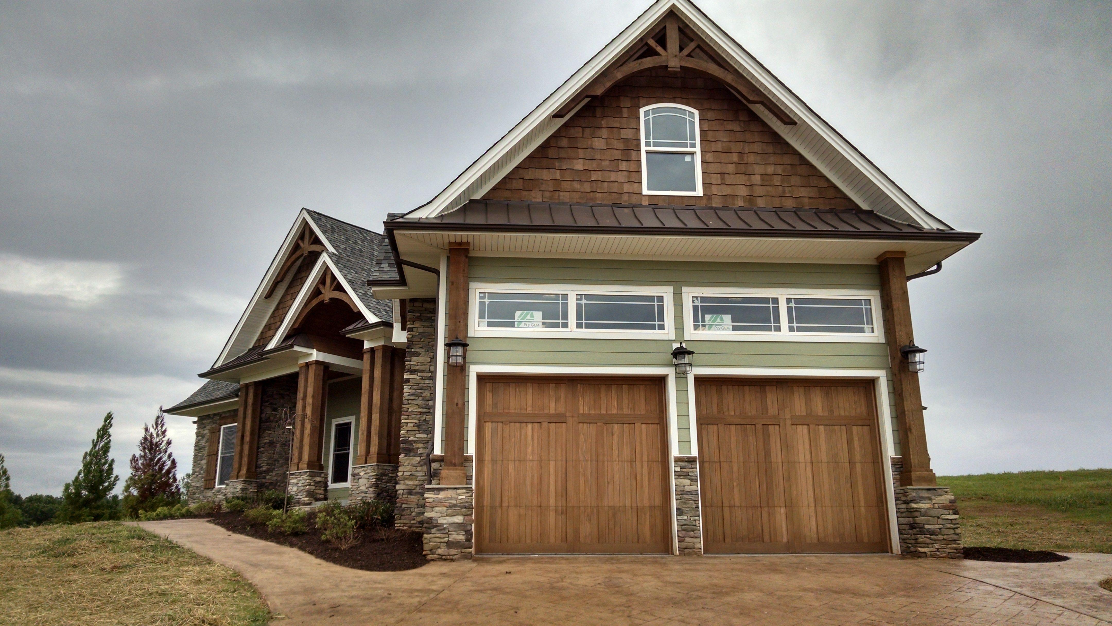 C.H.I. Overhead Doors Wood Garage Door Model 5432 In Cedar. Www.chiohd.com