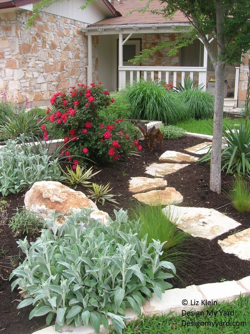 House garden landscape  Curb Appeal  Modest yet Gorgeous Front Yards Curb appeal Garden