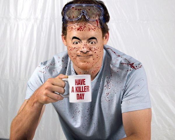 Feel like Dexter with PhotoFaceFun  Funny photo effects