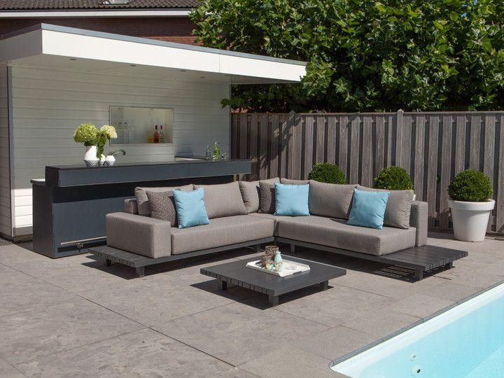 Lounge sofa garten günstig  PARADISO Lounge Modul für Garten Loungegruppe #garten #gartenmöbel ...