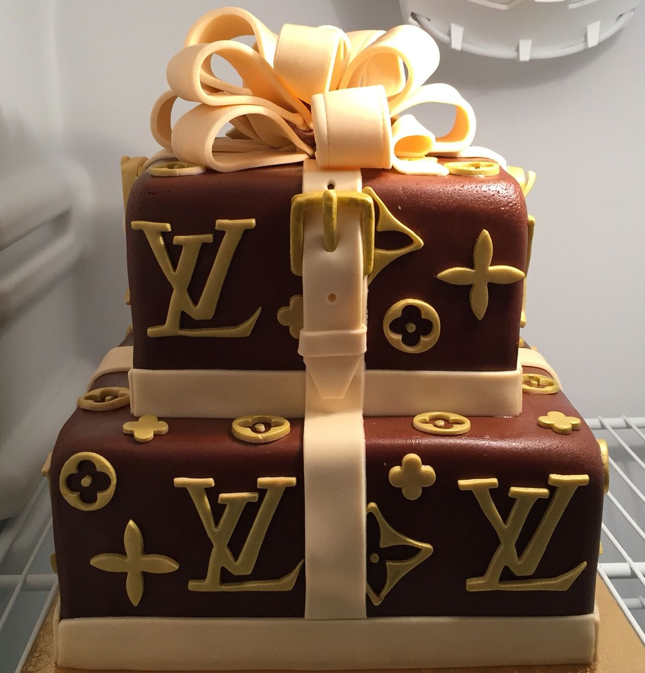 Louis Vuitton Birthday Cake Birthday Cake Cookies Awesome With