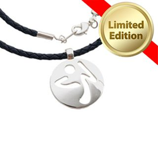 Zumba Fleel The Music Silver Necklace
