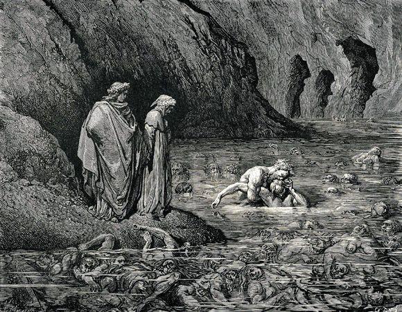 Inferno, Canto XXXII, Cain en Antenora
