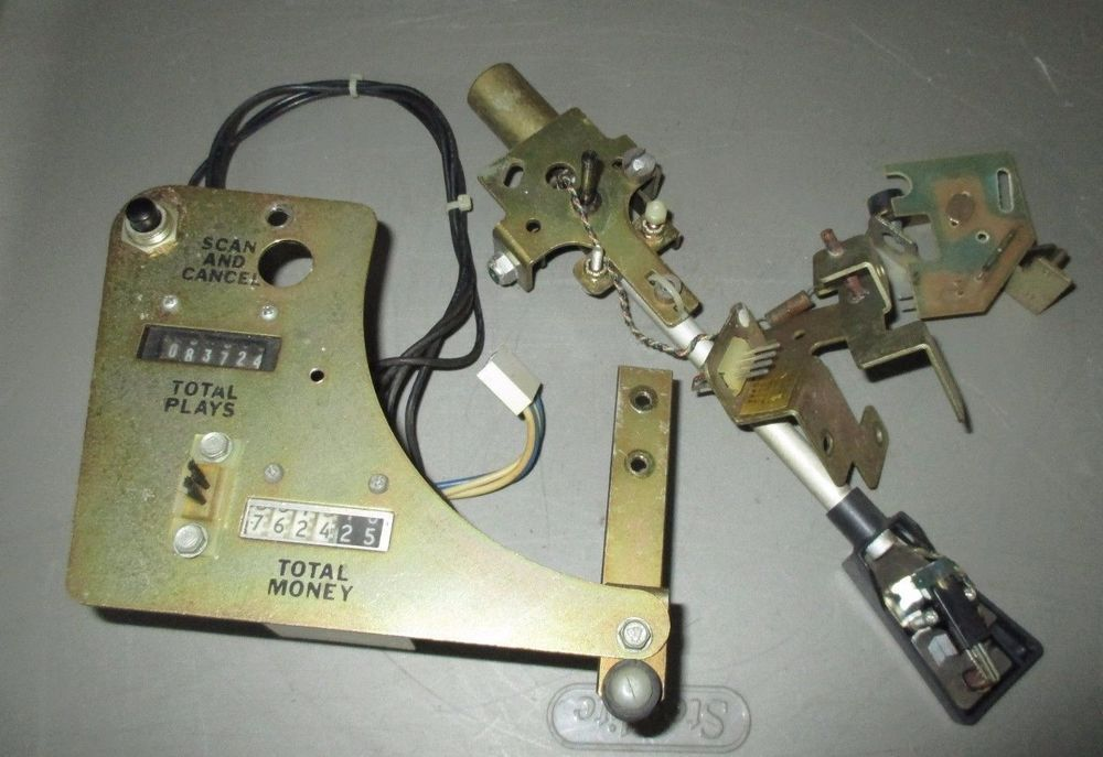 Rowe Ami 45 Record Jukebox 6 08700 01 Mechanism Tone Arm Assembly W Cancel Plate Jukebox 45 Records Toned Arms