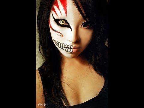 bleach ichigo hollow mask makeup tutorial costume makeup