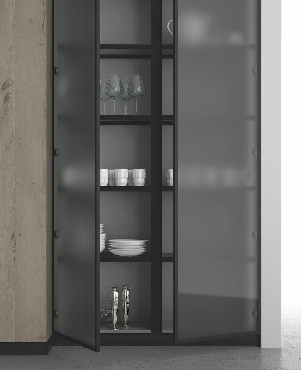 Credenze e vetrinette moderne in soggiorno | Vetrinetta ...