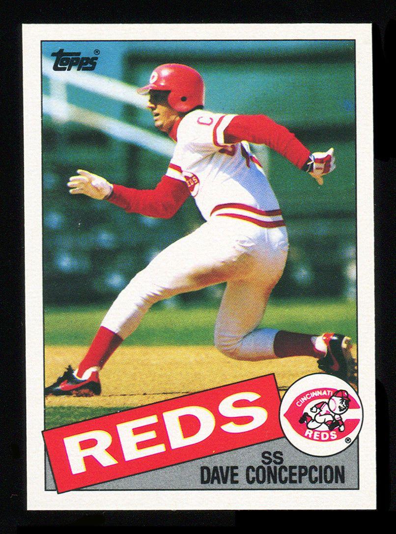 1985 topps mini cincinnati reds baseball cards cincinnati