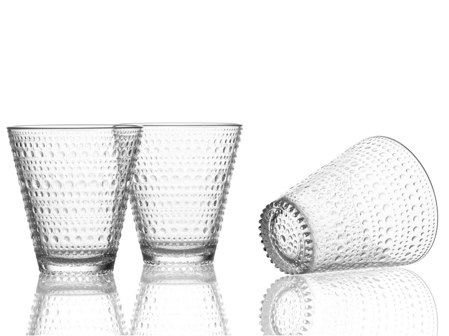 Iittala Gläser kastehelmi glass by iittala design oiva toikka wohnen deko