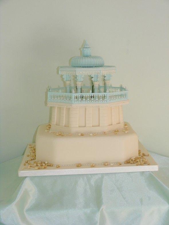 Brighton Bandstand cake