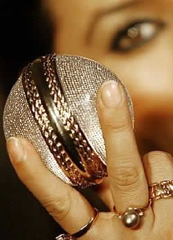 This Diamond Studded Cricket Ball Was Presented To The Best Indian And Best International Players At The 2007 Cri Expensive Diamond Cricket Balls Diamond Studs