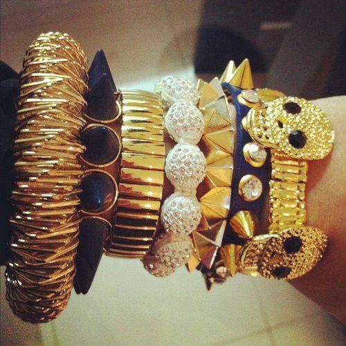 #skull #gold