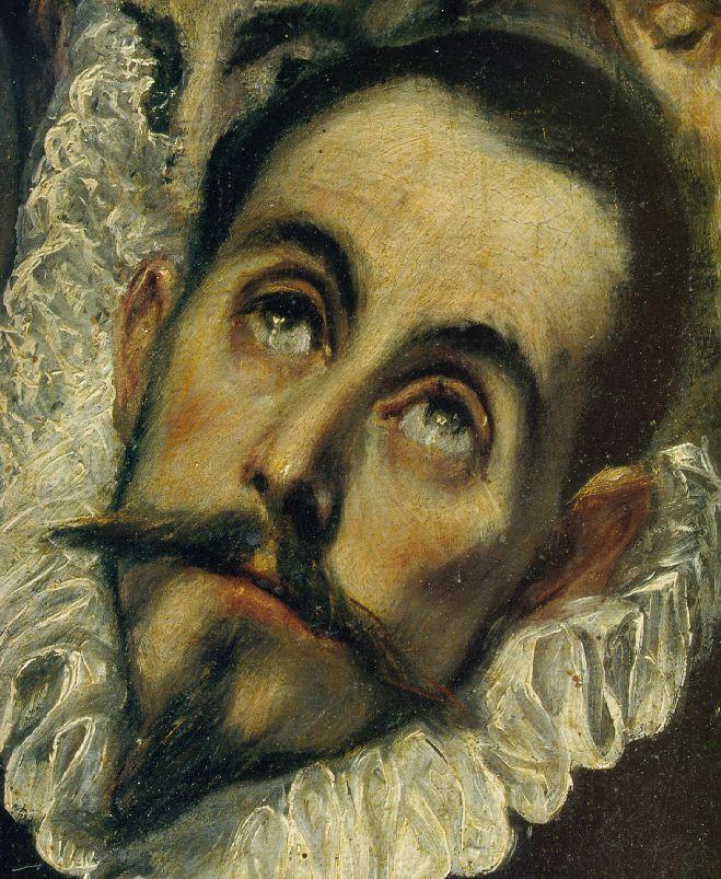 Download File:El Greco - Count Orgasz - face.jpg | El greco paintings, Portrait, El greco