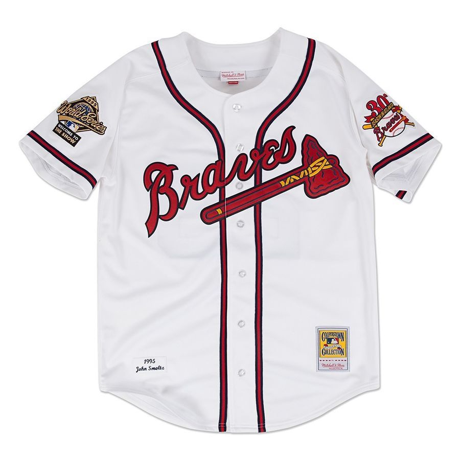 Mlb Mitchell Ness Authentic On Field Player Throwback Jersey Collection Men S Atlanta Braves Mitchell Ness Cooperstown
