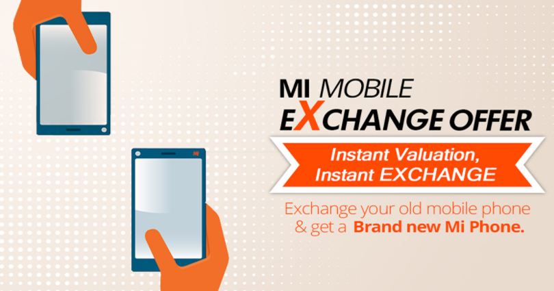 Xiaomi introduced Mi Exchange - an exchange program for old