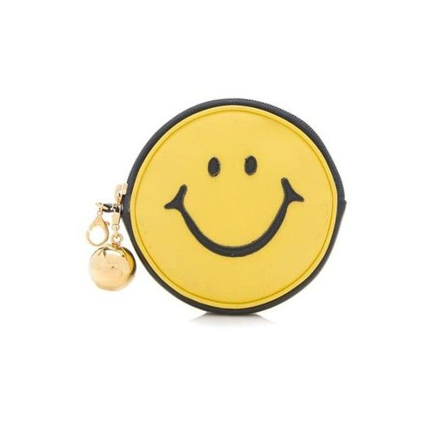 1stdibs Moschino Vintage smiley Face Pouch 9A6s7
