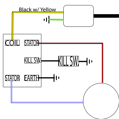 new racing cdi 5 pin wiring diagram | diagram, truck organization, wire  pinterest