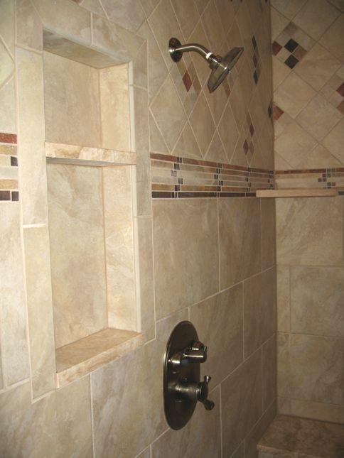 Bath Shower Stalls   Master Bathroom: Walk-In Shower Stall, Marble ...