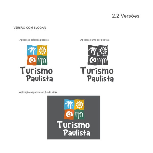 Brand Turismo Paulista by Philipe Aquino, via Behance