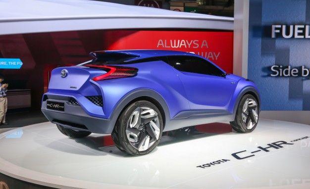 Toyota CHR concept  Toyota Concept Cars  Pinterest  Toyota