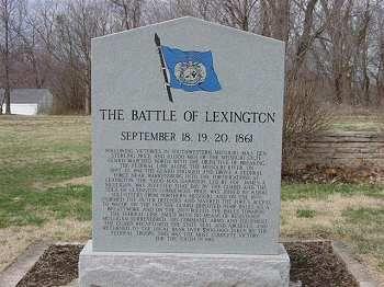 Battle of Lexington, Missouri site photos   Rural Missouri