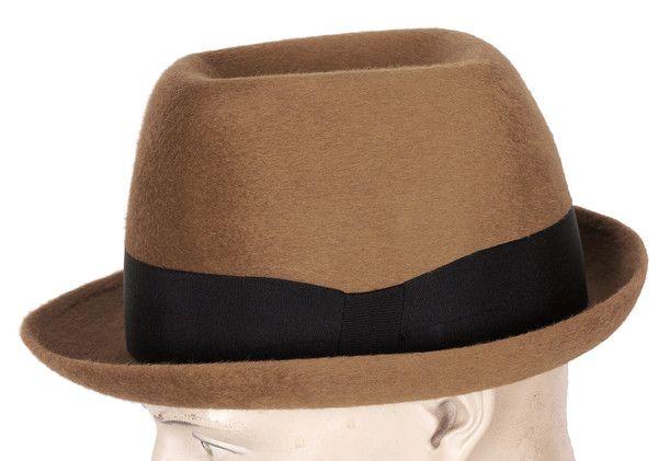 5e76cc83 Vintage 1960s Pierre Cardin Mens Fedora Hat Size XL 7 1/2 | Mister ...